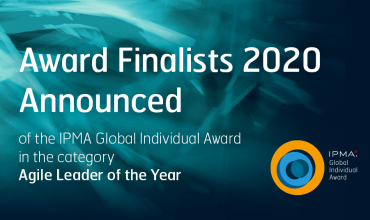 2020 IPMA Individual Awards Agile Leader of the Year Finlaists